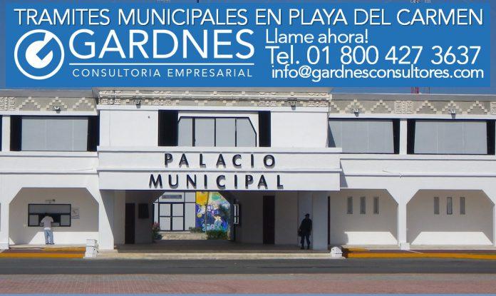 Tramites Municipales en Playa del Carmen